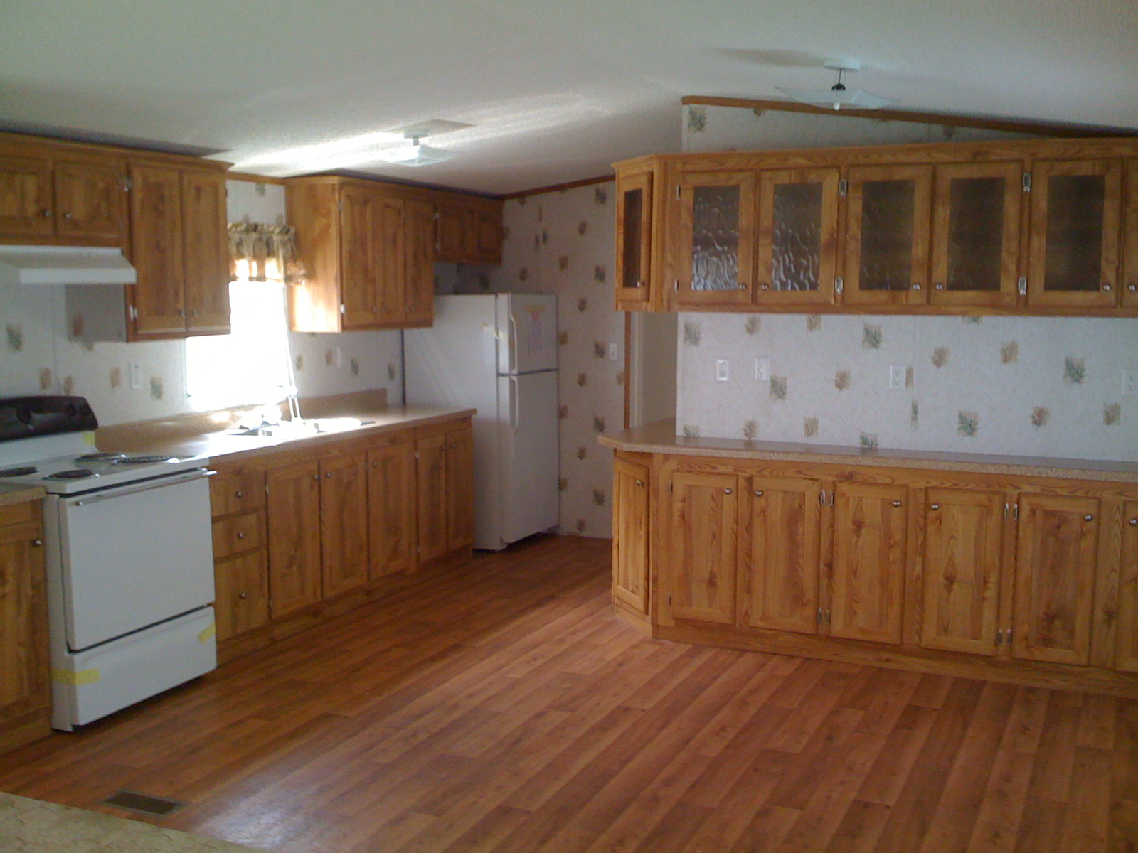 Repodepot we make home buying enjoyable for Mobile home kitchens pictures